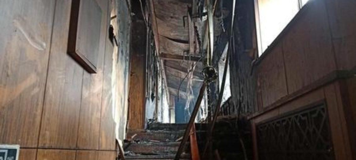 Al menos 19 muertos por incendio de hotel en China