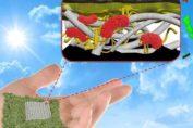 Crean una batería biodegradable hecha de papel