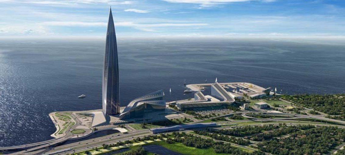 El mayor rascacielos de Europa