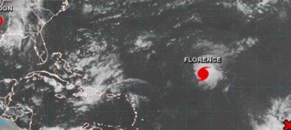 Huracán Florence sigue amenazando a Florida