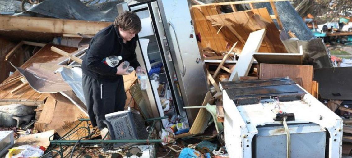 Huracán Michael deja 13 muertos y gran devastación