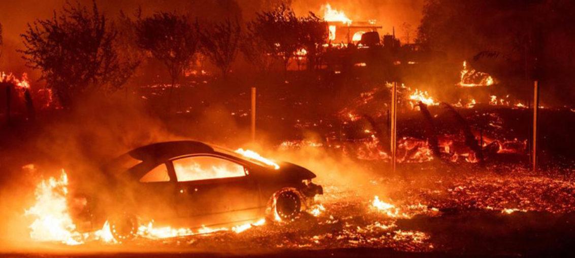 Cinco muertos por devastadores incendios en California