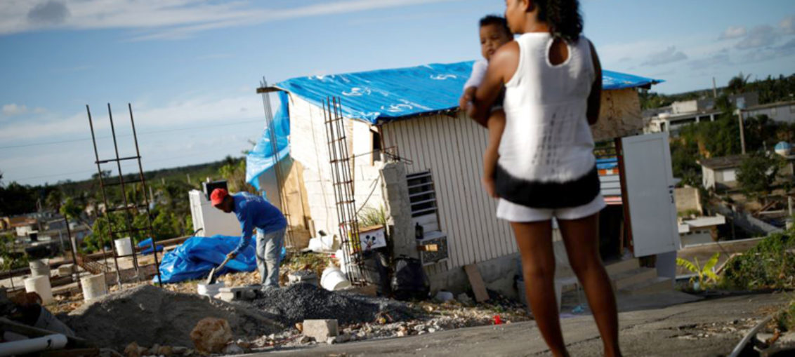 Casi 3000 muertos por huracán María en Puerto Rico
