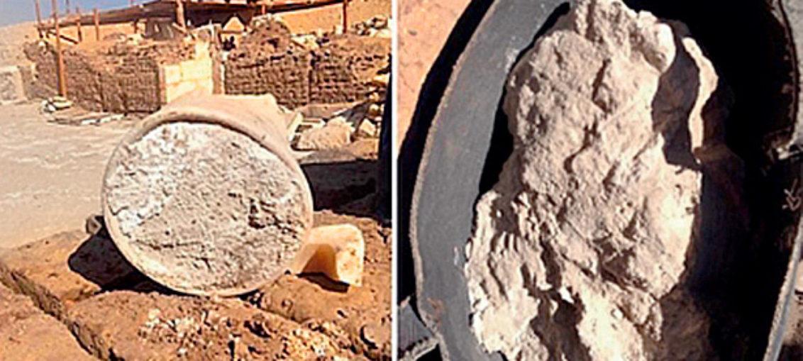 En tumba egipcia, el queso más antiguo del mundo