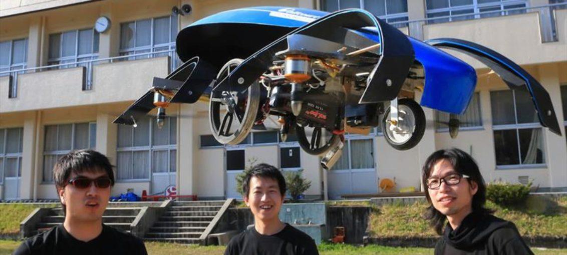 Japón desarrolla proyecto de autos voladores