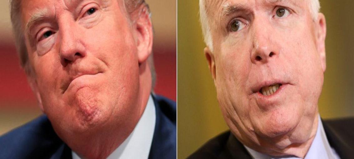 McCain critica a Trump en carta póstuma