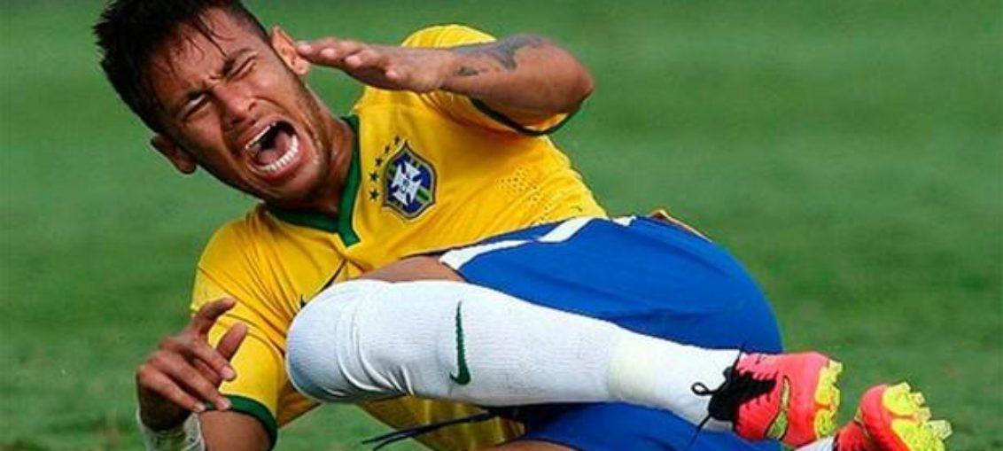 Neymar admite que exagera en supuestas faltas contrarias