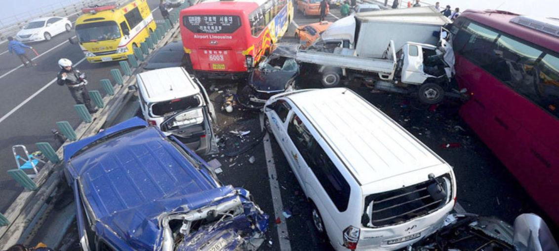 Sistema para rápido socorro en accidentes viales