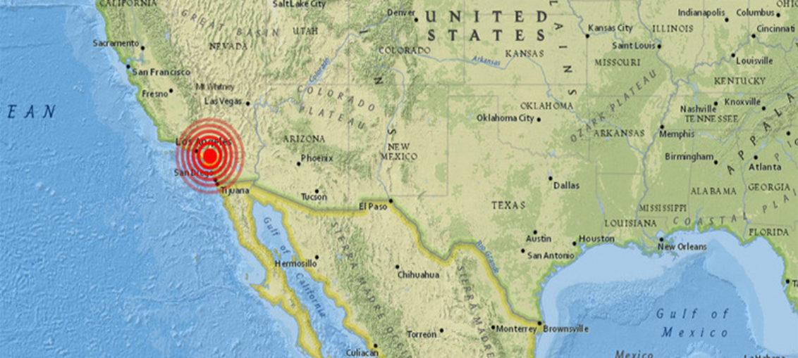Ofrecen detalles del sismo de Los Ángeles
