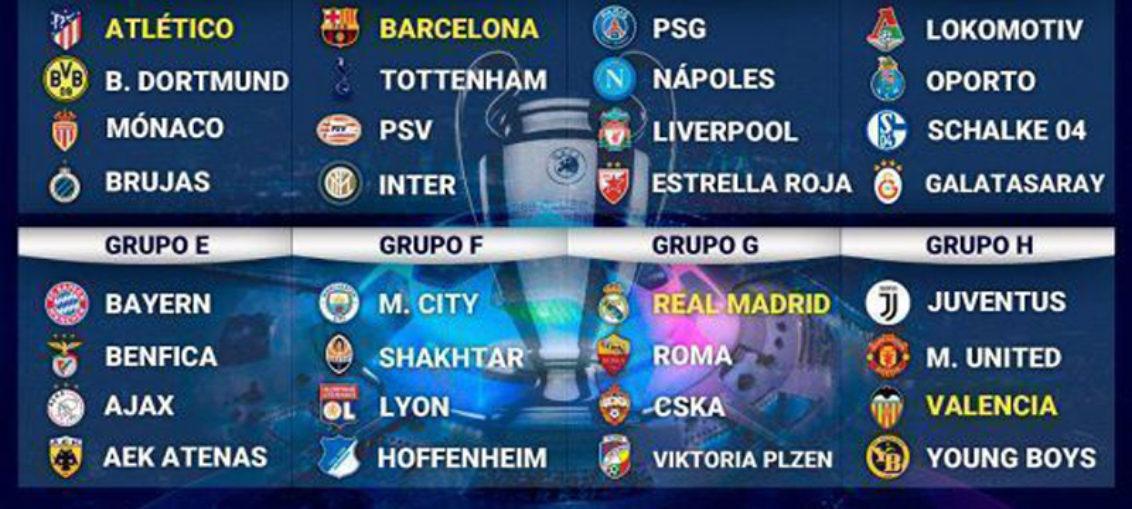 Sorteo de Champions: Barcelona lo tiene más difícil