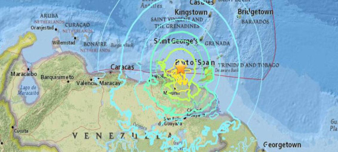 Fuerte sismo sacude Venezuela