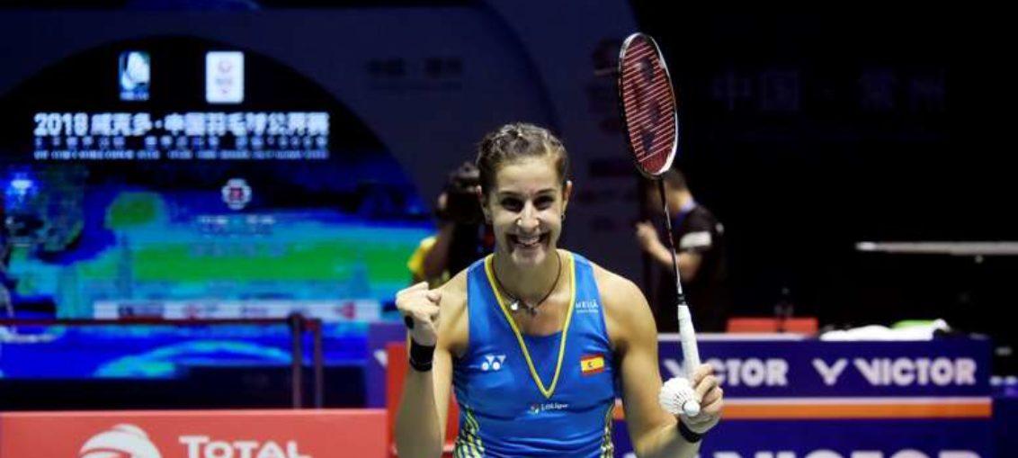 Carolina Marín conquista el Abierto de China