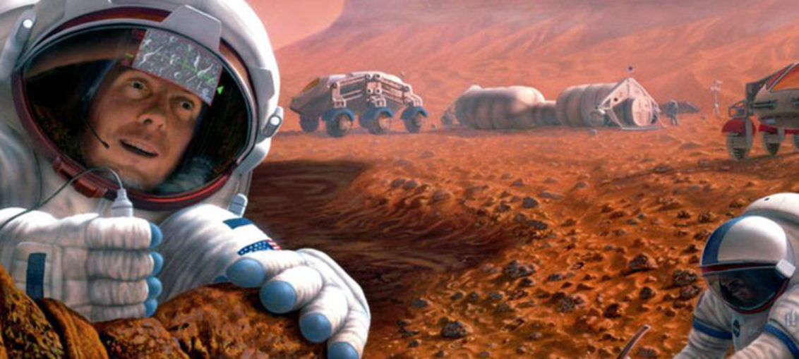 Confirman estructura geológica de región de Marte
