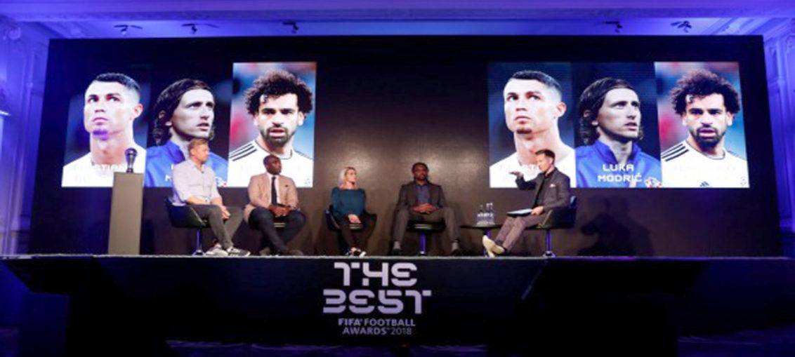 Cristiano, Modric y Salah, finalistas al premio The Best