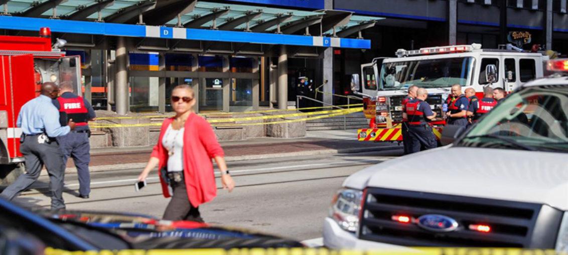Cuatro muertos por tiroteo en banco de Cincinnati