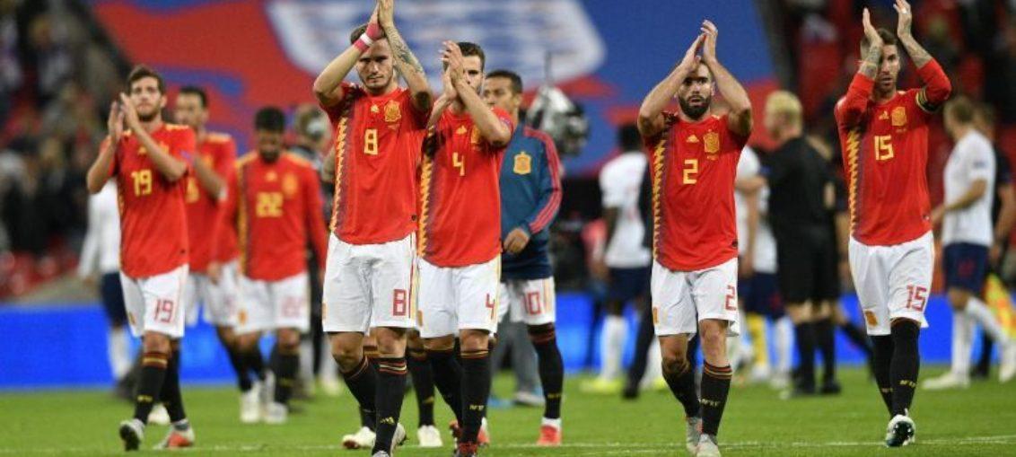 España vence a Inglaterra en debut de Liga de Naciones
