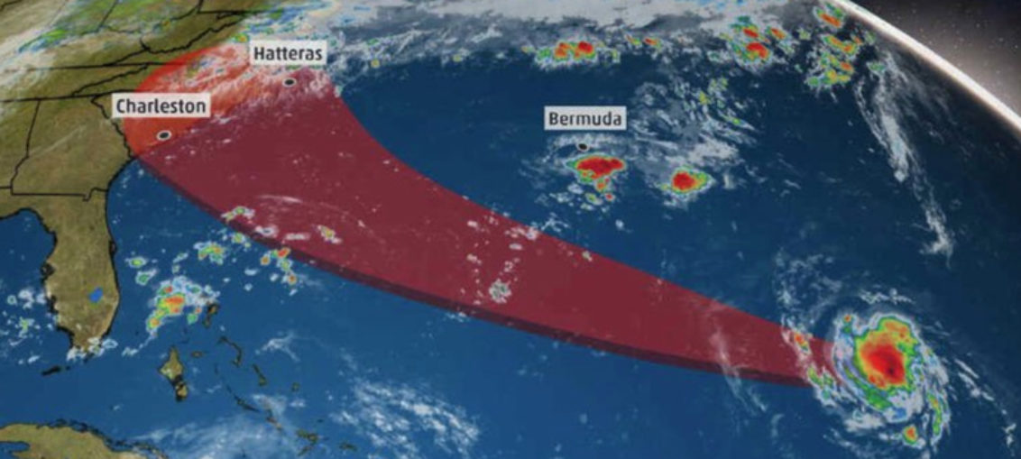 Gran amenaza del huracán Florence para EE.UU.