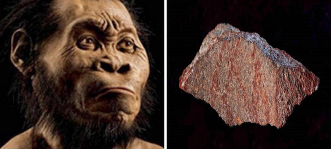 Hallan el dibujo más antiguo de la historia humana