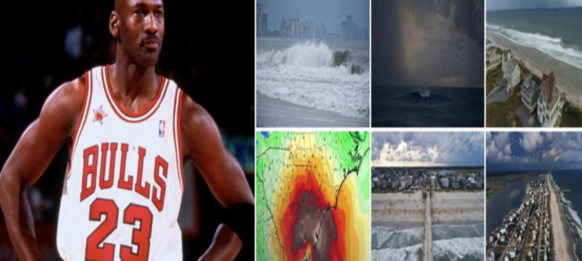 Michael Jordan y NBA ayudan a damnificados por Florence