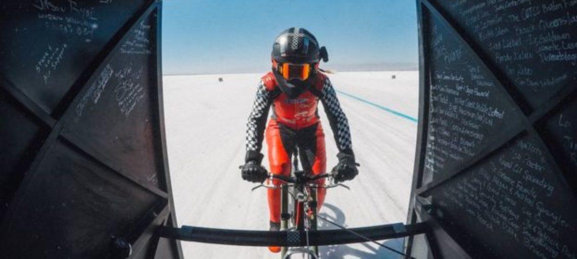 Mueller-Korenek, la ciclista más rápida del mundo