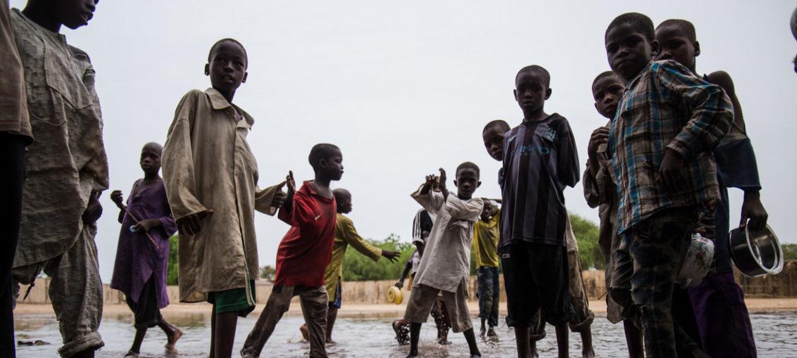 Niños, los más vulnerables a fenómenos climáticos