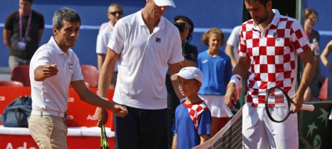 Polémico juez emite advertencia a Cilic en Copa Davis