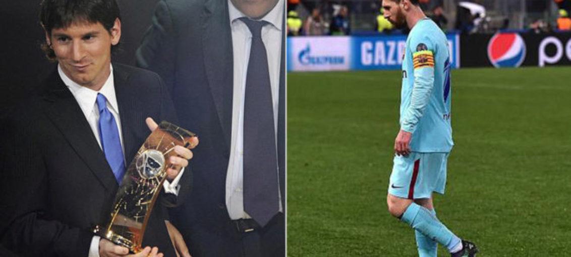 Por qué Messi fuera de premios The Best y UEFA
