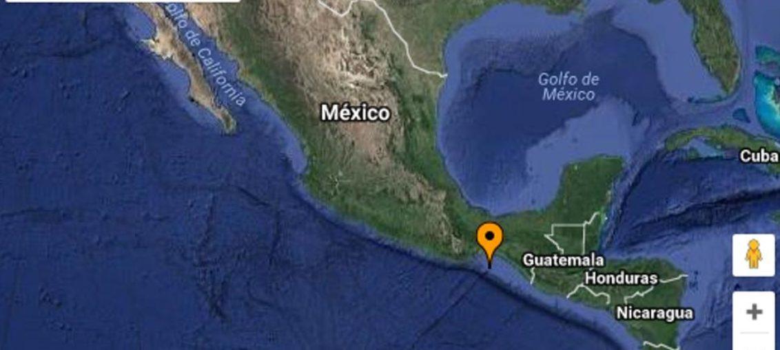 Sismo de magnitud 4,4 sacude Pacífico sur mexicano