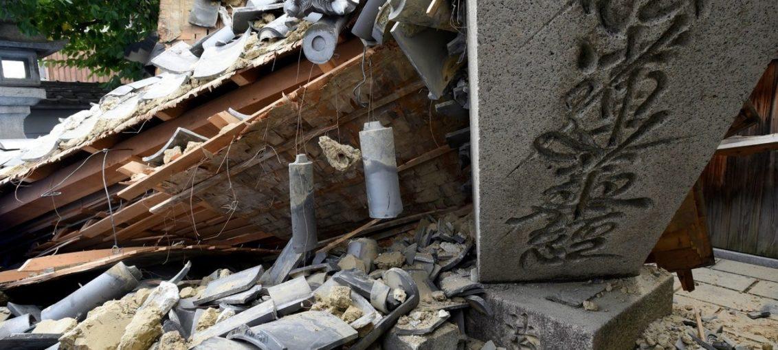 Sismo en Japón deja muertos, heridos y destrozos