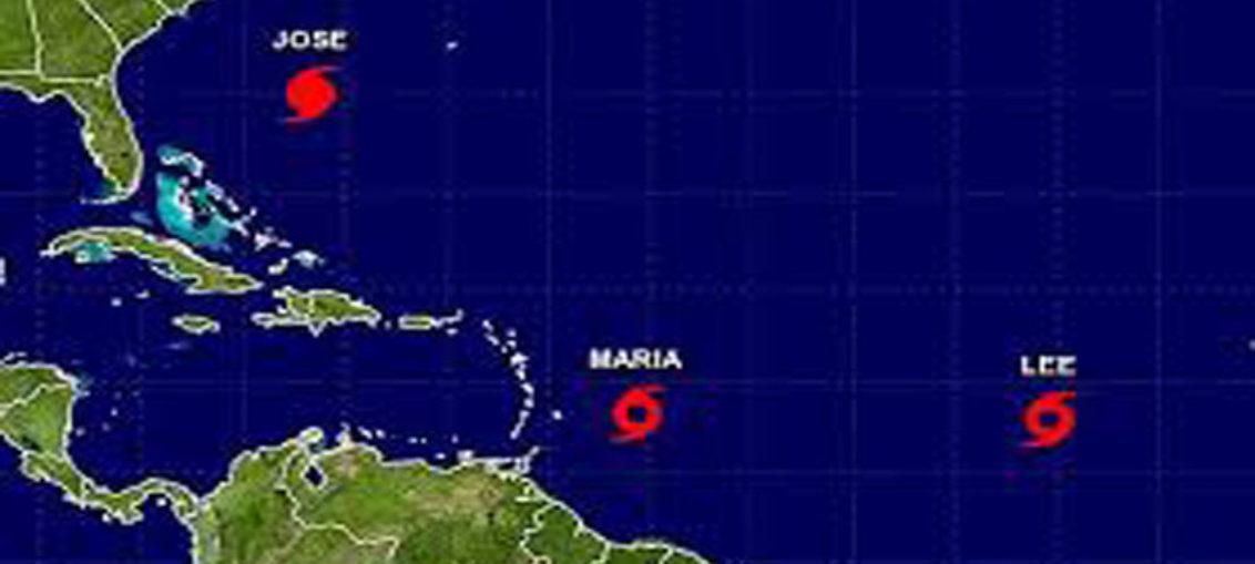 Un huracán y dos tormentas acechan desde el Atlántico