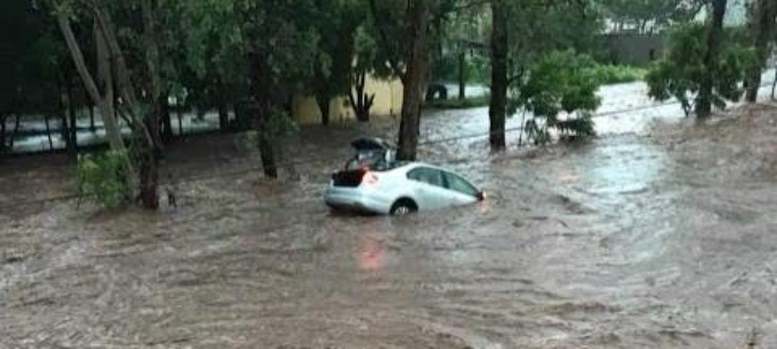 Zona de desastre en Sinaloa por inundaciones