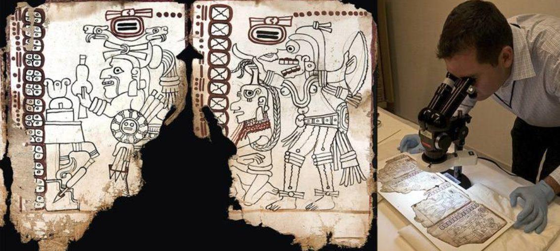 Códice Maya, manuscrito legible más antiguo de América