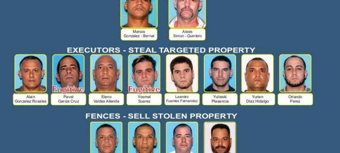 Desmantelan banda que robaba rastras y autos de lujo