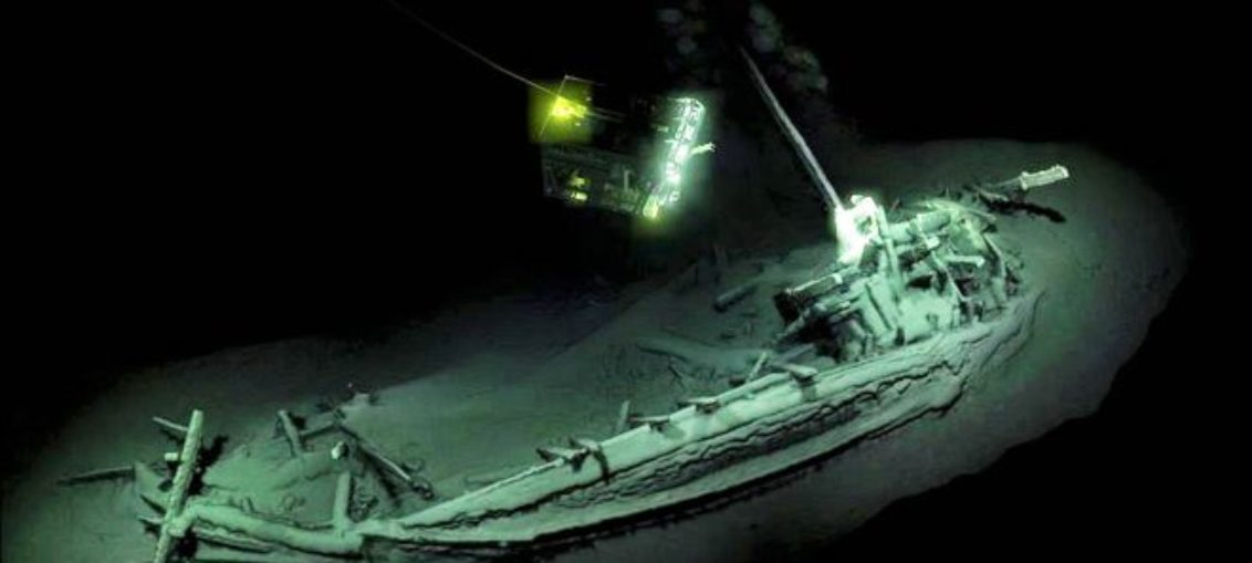 El naufragio intacto más antiguo del mundo