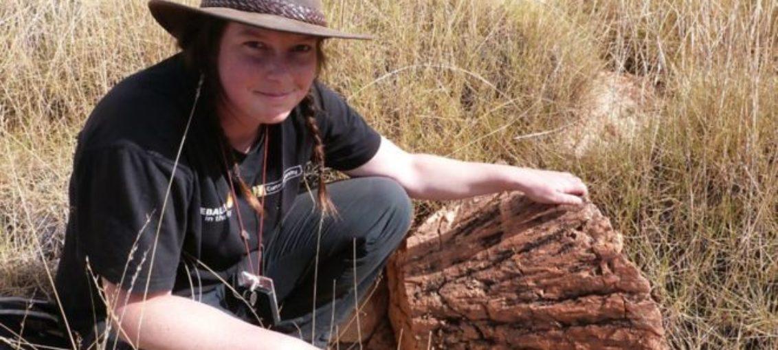 Estudiante descubrió mineral extremadamente raro