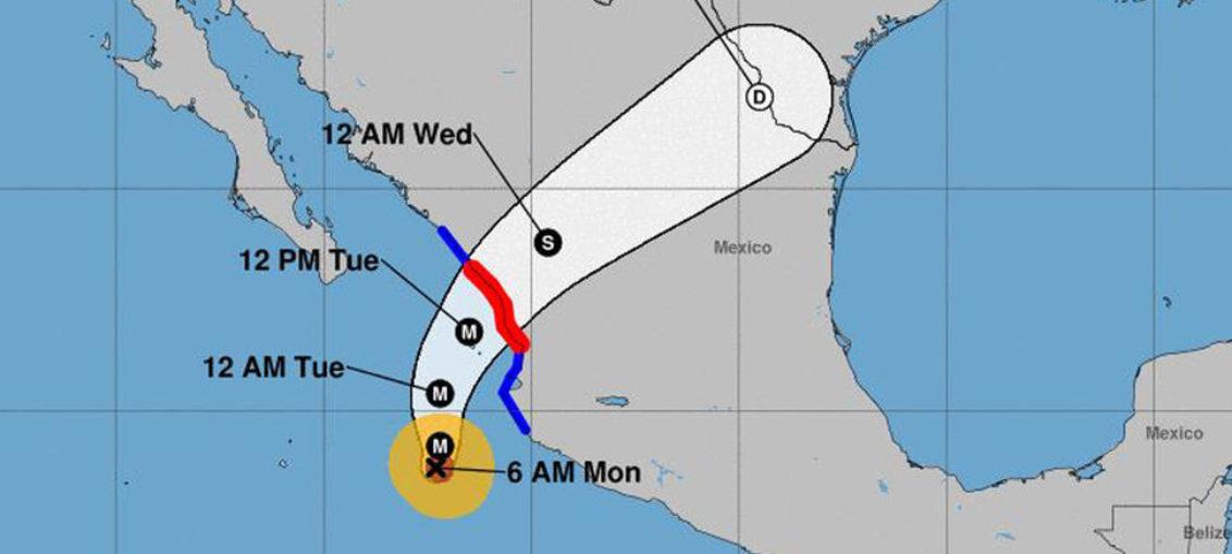 Hacia México huracán Willa, potencialmente catastrófico