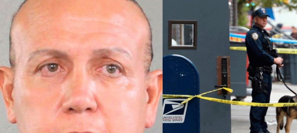 Identifican al hombre arrestado por paquetes sospechosos