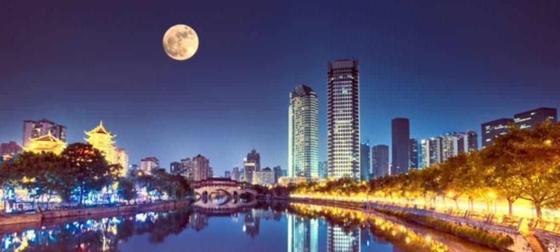 Luna artificial para iluminar ciudad