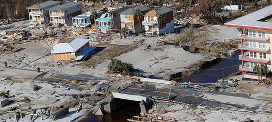 Más de $ 1.25 mil millones en pérdidas por huracán Michael