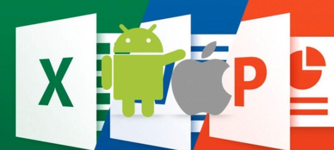 Mejoras en Microsoft Office, iOS y Android