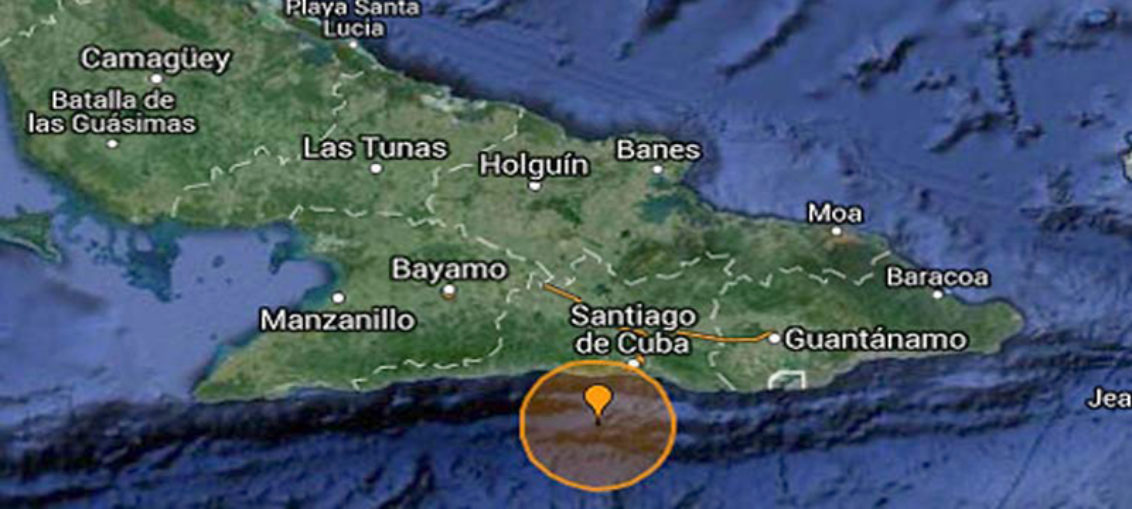 Registran en Santiago de Cuba sismo perceptible 14 del año