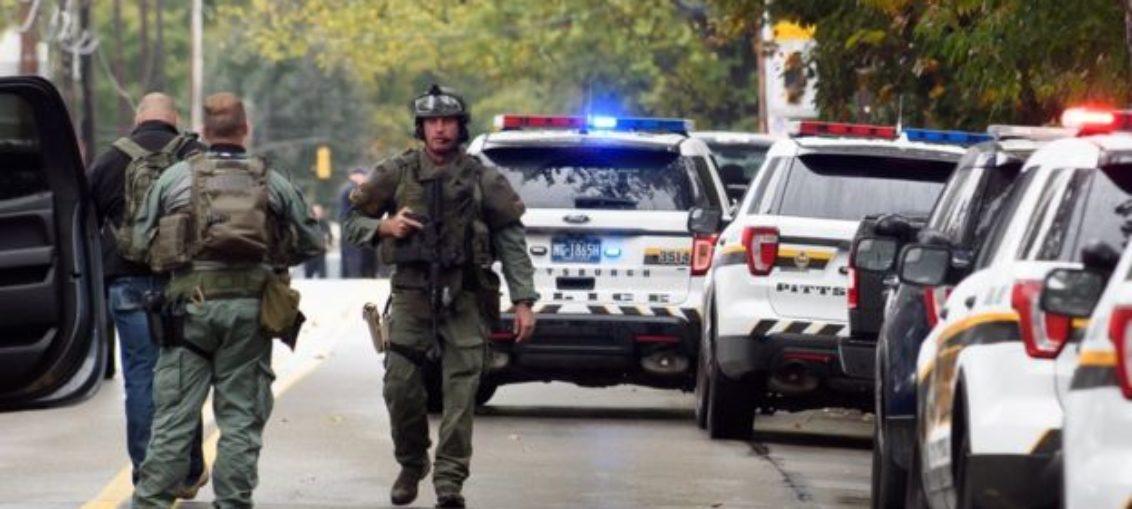 Tiroteo en Pittsburgh deja 11 muertos en sinagoga