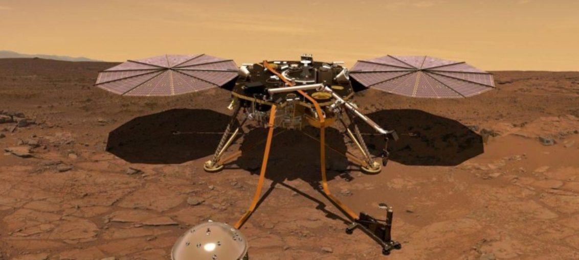 Curiosidades sobre aterrizaje de InSigth en Marte