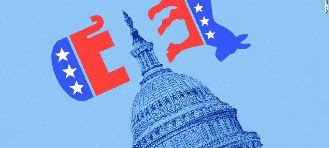 El Senado es republicano; la Cámara, demócrata