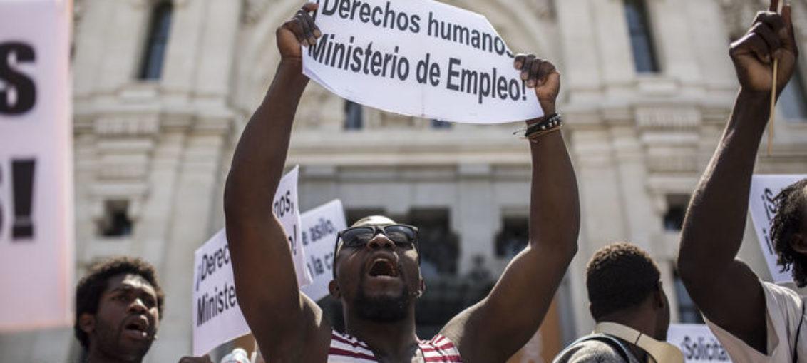 Poco se habla de la caravana de migrantes de Madrid