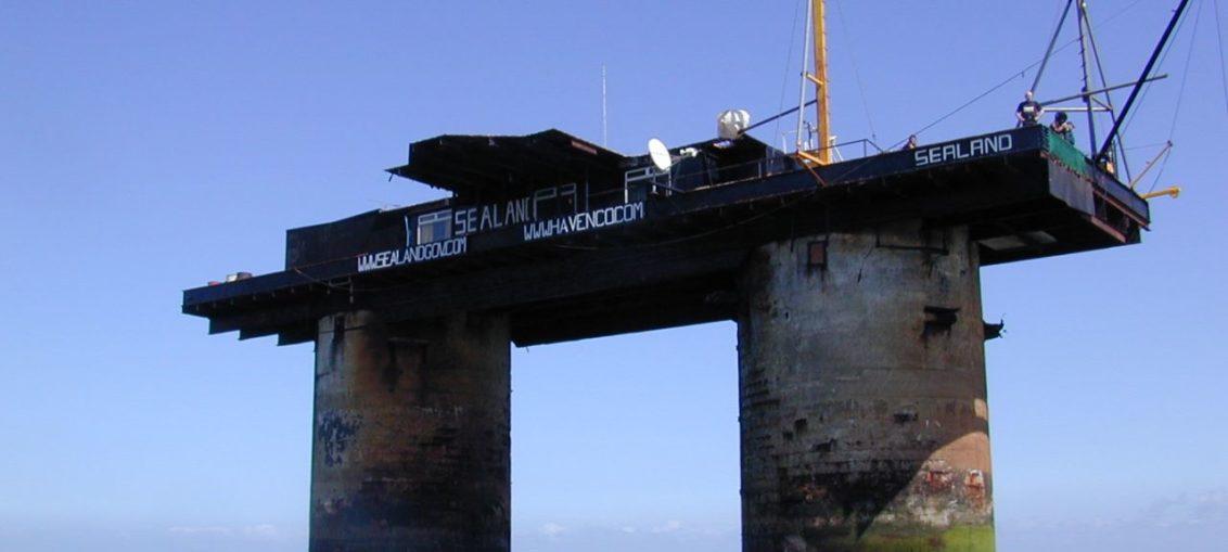 Sealand, país diminuto en una plataforma marina