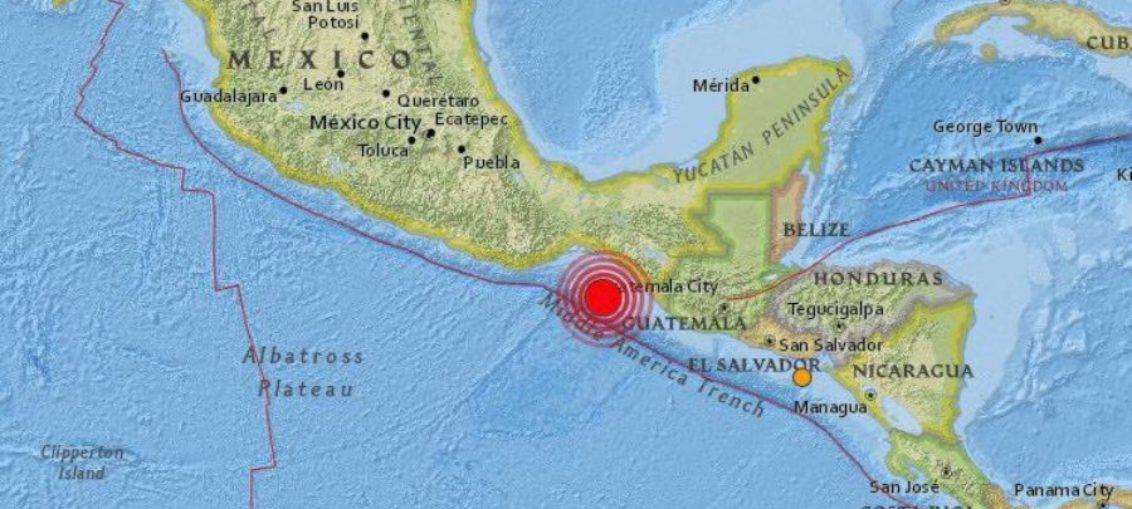 Terremoto sacude parte de México