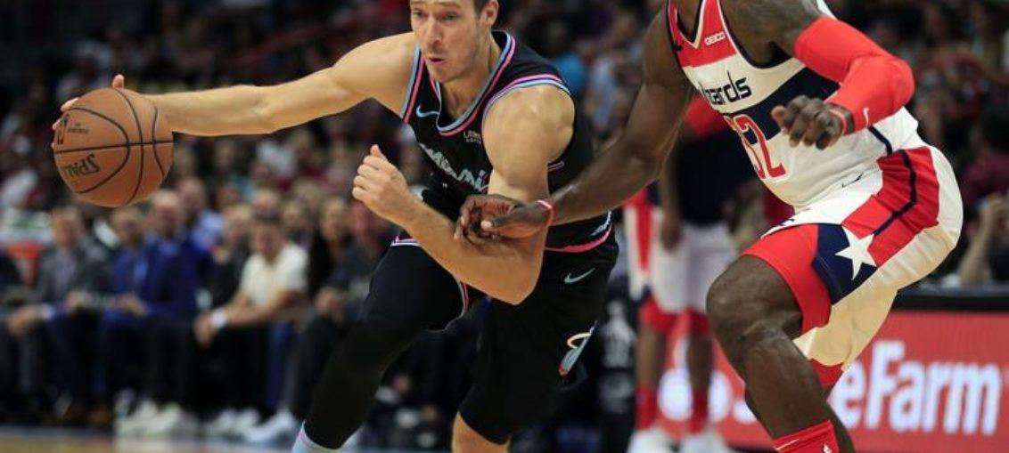 Un inconsistente Heat cae ante los Wizards
